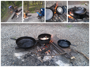 Fire cooking