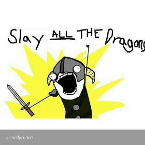 kill all the dragons